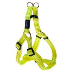 Шлея степ для собак утилитарность, желтый, rogz S,