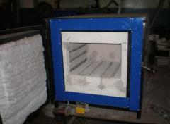The muffle furnace. Equipment for heat treatment