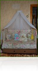 Set in detskuya a bed