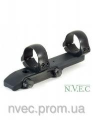Mounts for riflescopes