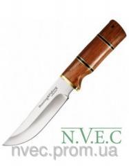 Нож фиксированный с кожанным чехлом (длина: