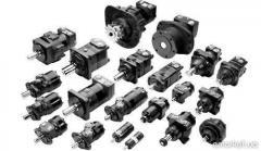 Motors hydraulic MPG planetary type