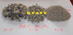 Ores bauxite, bauxite 87 price, Zaporizhia,