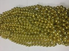 Бусы 12мм B-09 02 (золото)