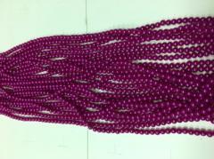 Бусы 5мм B-05 02 (фиолетовый)