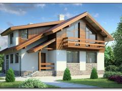 Construction of turnkey frame houses