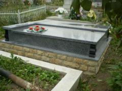 Надгробные уголки, гранитные уголки для надгробий,