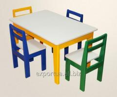 Children's table color
