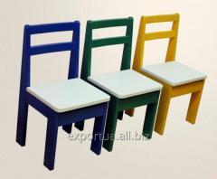 Детский стульчик цветной