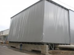Hangars, warehouse