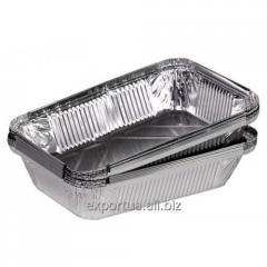 R62L container of food aluminum foil 900 ml (217 *