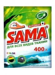 САМА Порошок стиральный без фосфатов автомат 400 г