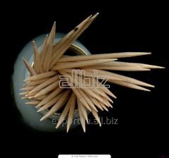 Зубочистки 1000 шт. в полимерной индивидуальной упаковке