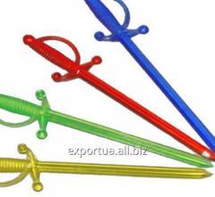 """Brochette """"épée"""" couleur (1000"""