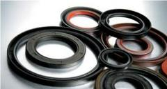 Epiploons, consolidations manzhetny rubber-metal