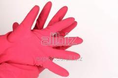 Перчатки резиновые L универсальные крепкие