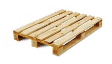Pallets, cargo trays, wooden