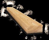 Wood half-ties for runways