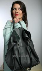 Объёмная вместительная сумка-мешок Bucket