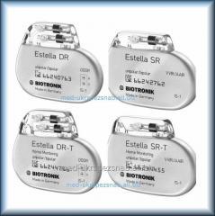 Однокамерный электрокардиостимулятор Biotronik Estella SR-T c частотной адаптацией с функцией HomeMonitoring