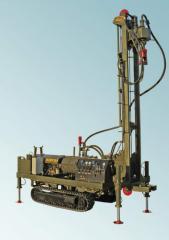 Small-size KZBT-B1 drilling rig