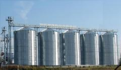 Elevator for storage of grain (CHIEF) - for accumulation and storage of all types of grain (seed, fodder and food appointment) as humidity no more than 14%. In silos active aeration is used.
