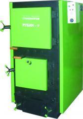 Hot water boilers type-Rubin have heating solid