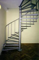 Винтовые лестницы из нержавейки.