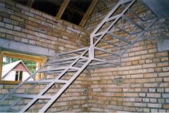 Винтовые лестницы металлические.