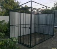 Metal cages, Aviary
