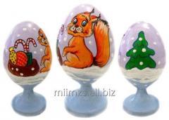 El huevo Animals R de madera - 156