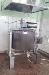 Boiler 140 l brewing with bottom discharge product