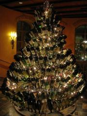 Fir-tree from bottles