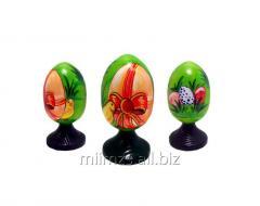 El huevo Easter R de madera - 4