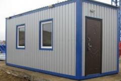 Module buildings for construction. Office Mobile.