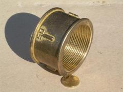 Coupling brass Du50 Ru16 of VV