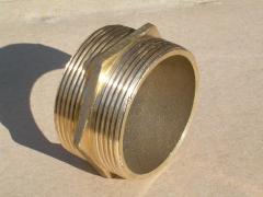 Nipple brass Du50 Ru16