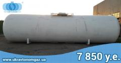 Gas capacity, copper, the tank for propane 54