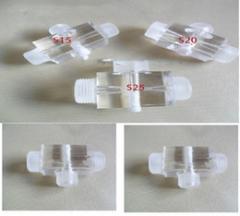 """Инжектор прозрачный JD 608 — SL-1-1 , вх/вых — 1"""""""