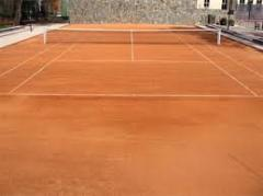 Covering for tennis courts