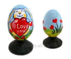 El huevo Happy Birthday R de madera - 17