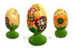 El huevo Happy Birthday R de madera - 49