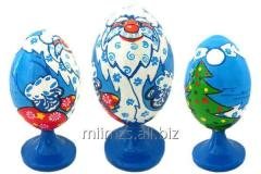 El huevo Nesting Dolls R de madera - 248