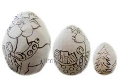 Яйцо деревянное DIY Р - 106