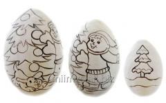 Яйцо деревянное DIY Р - 107