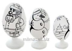 Яйцо деревянное DIY Р -  119