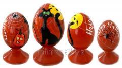 El huevo Halloween R de madera - 84