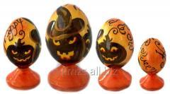 El huevo Halloween R de madera - 88