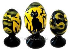 El huevo Halloween R de madera - 90