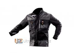 Steeluz jacket dark gray with gray finishing